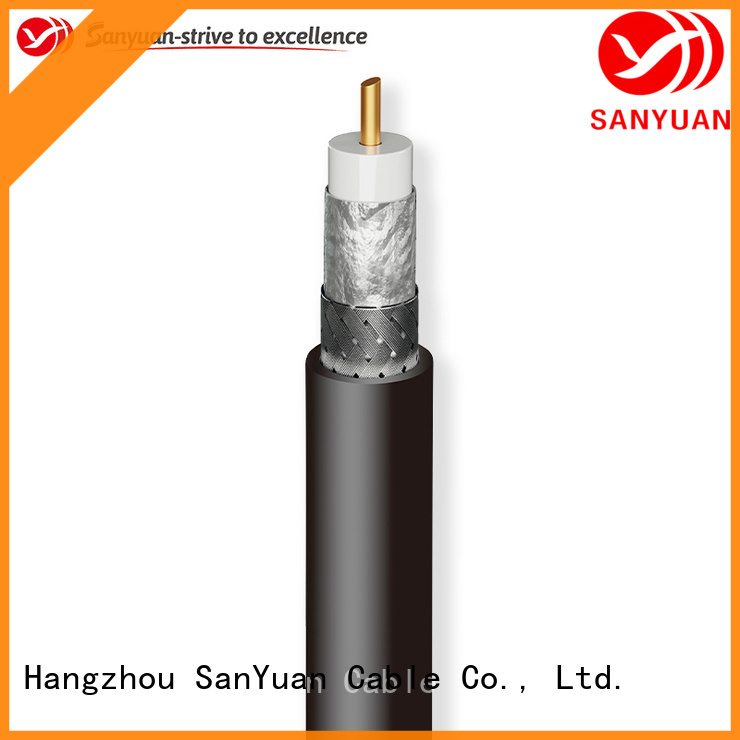 SanYuan 50 ohm coaxial cable manufacturer for broadcast radio