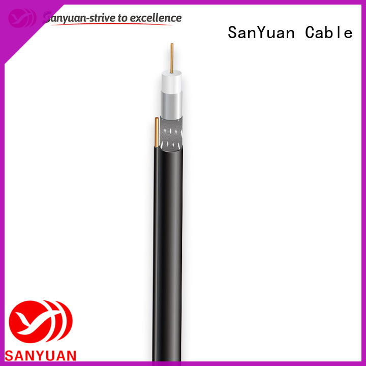 SanYuan easy to expand cable coaxial 75 ohm supply for digital video