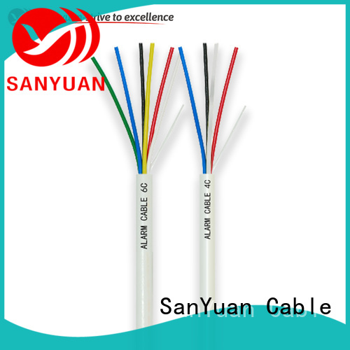 SanYuan best alarm cable factory for burglar alarms