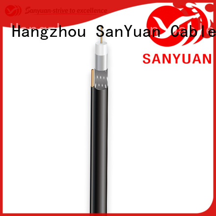 SanYuan long lasting 75 ohm coaxial cable company for HDTV antennas
