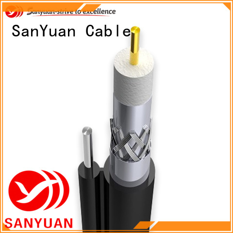 SanYuan latest 75 ohm coaxial cable manufacturers for HDTV antennas