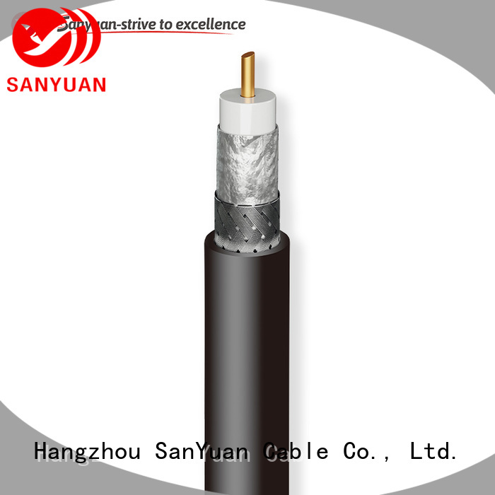 SanYuan coax cable 50 ohm supplier for TV transmitters