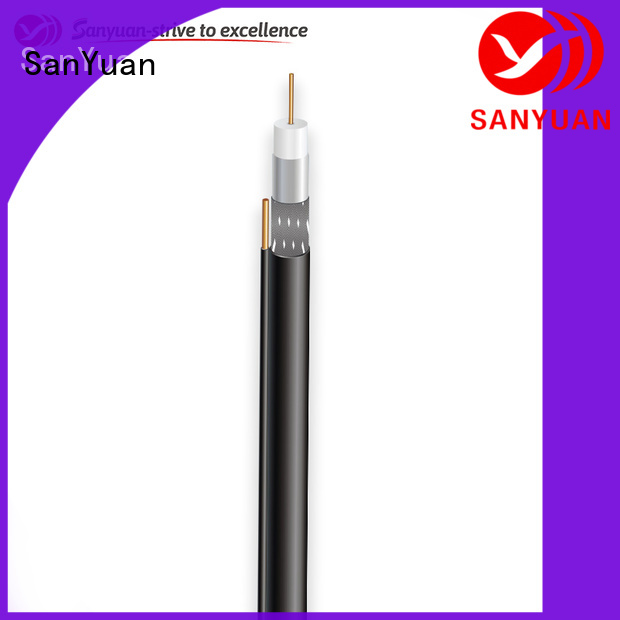 SanYuan easy to expand cable 75 ohm suppliers for digital video