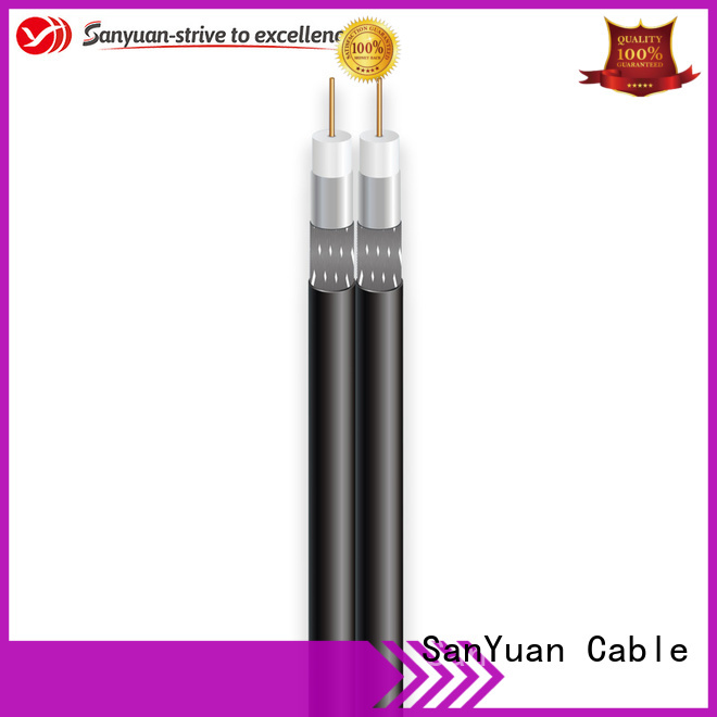 SanYuan cheap 75 ohm coaxial cable manufacturers for satellite