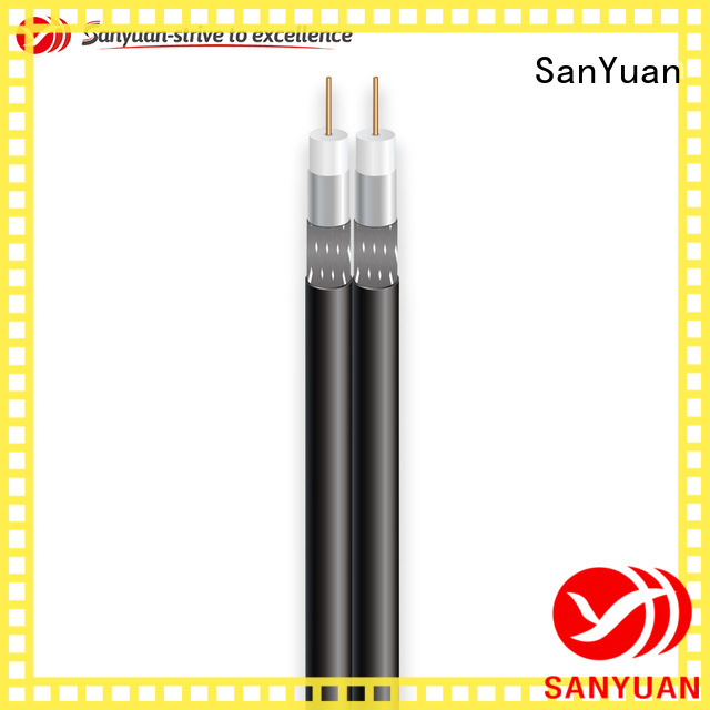 SanYuan cable coaxial 75 ohm suppliers for satellite