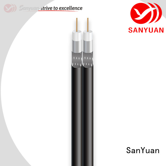SanYuan best 75 ohm coax supply for digital audio