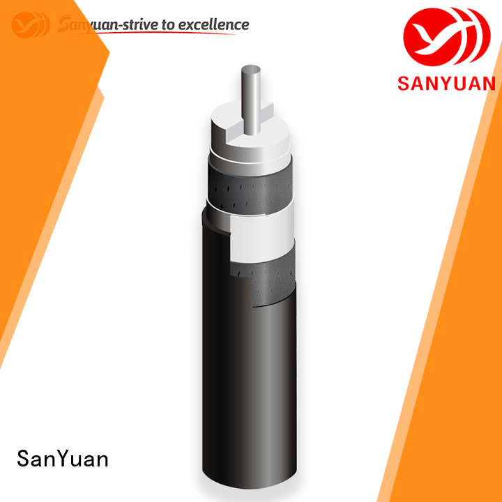 SanYuan best 75 ohm coax supply for digital video