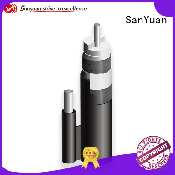 SanYuan top 75 ohm coaxial cable factory for data signals