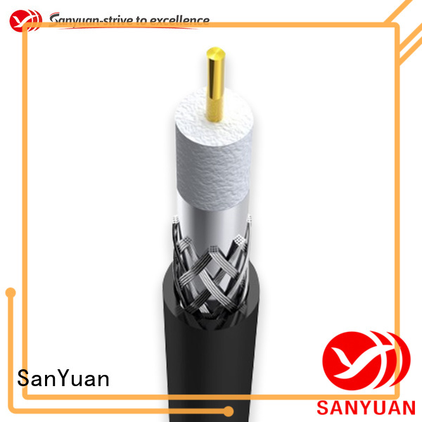SanYuan 75 ohm coax factory for HDTV antennas