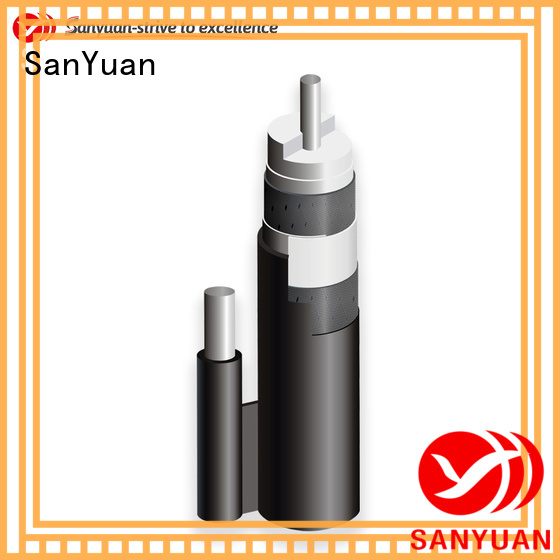 SanYuan top cable 75 ohm factory for HDTV antennas