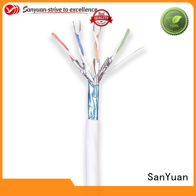 SanYuan cat 7 cable factory direct supply for gaming