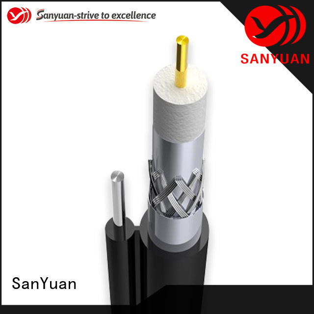SanYuan cable coaxial 75 ohm supply for satellite