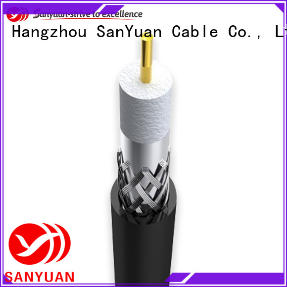 SanYuan 75 ohm cable company for satellite