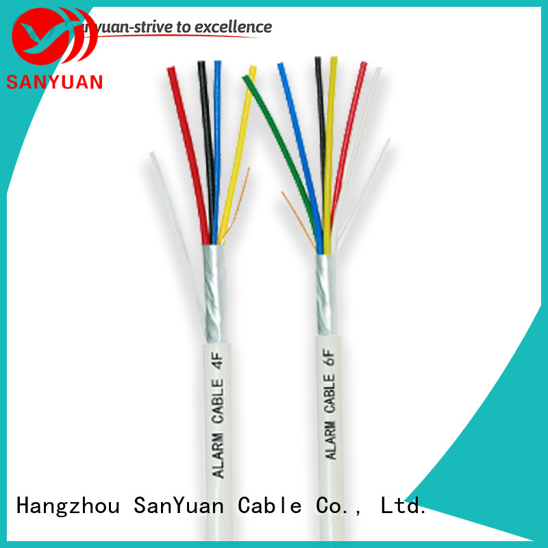SanYuan fire alarm wire supply for smoke alarms