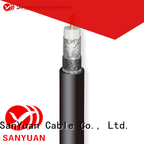 SanYuan strong 50 ohm coax cable wholesale for broadcast radio
