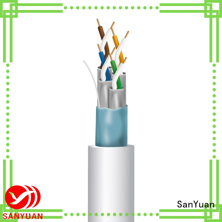 SanYuan cat 7 cable wholesale for gaming
