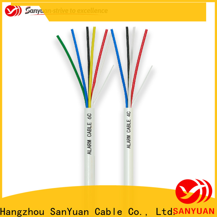 SanYuan security alarm cable supply for video surveillance