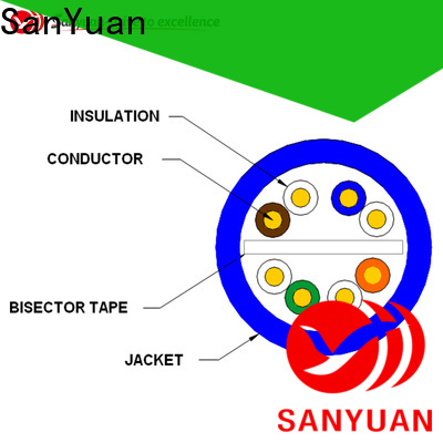 SanYuan cat6 cable wholesale for data network