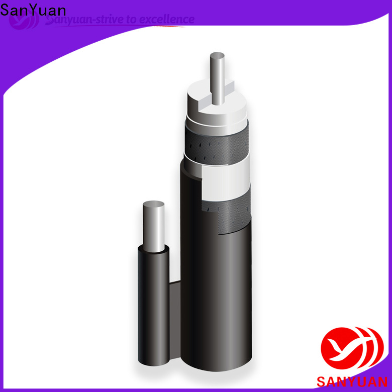 SanYuan 75 ohm cable manufacturers for data signals