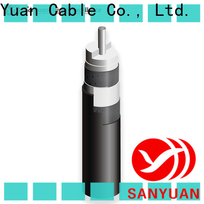 SanYuan 75 ohm coaxial cable company for digital video
