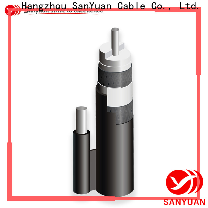SanYuan 75 ohm coax factory for satellite