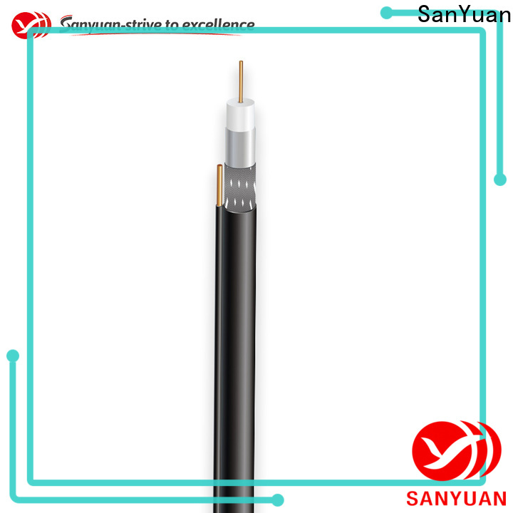 SanYuan top cable coaxial 75 ohm suppliers for satellite