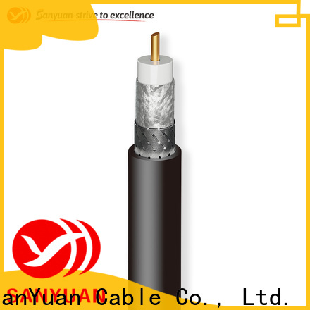 SanYuan cost-effective 50 ohm coax cable manufacturer for TV transmitters