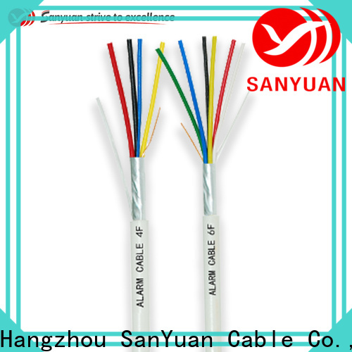 SanYuan best fire alarm network cable supply for fire alarm systems