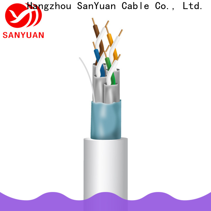 SanYuan cat 7 cable series for railway