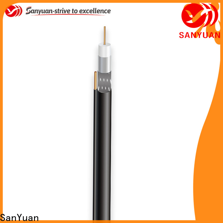 SanYuan cheap cable coaxial 75 ohm company for digital audio