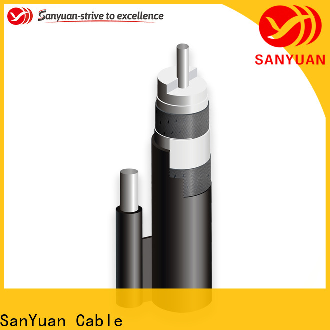 SanYuan latest 75 ohm cable suppliers for data signals
