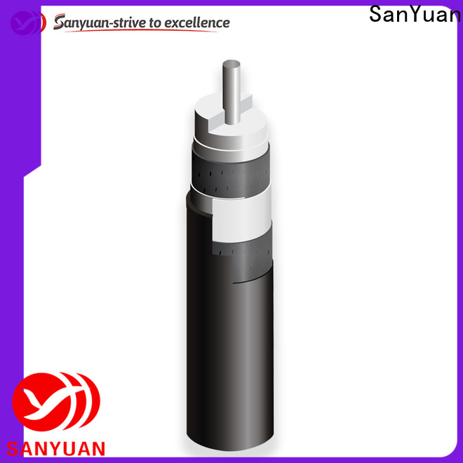 SanYuan easy to expand 75 ohm cable company for HDTV antennas