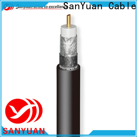 SanYuan top quality 50 ohm coax cable supplier for TV transmitters