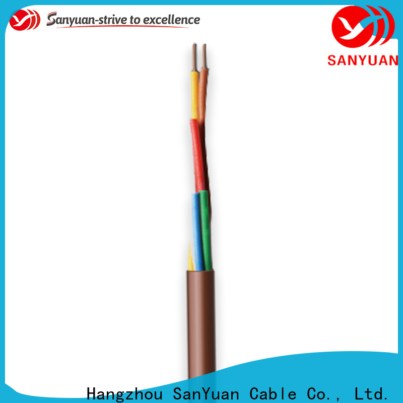 SanYuan thermostat wire manufacturers for annunciator