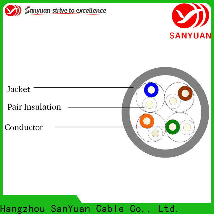 SanYuan high quality cat 5e lan cable wholesale for routers