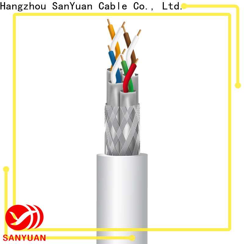 SanYuan high-quality cat 7a cable manufacturers for gaming