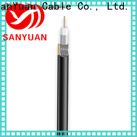 SanYuan 75 ohm coaxial cable factory for satellite
