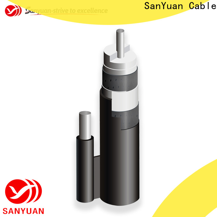 SanYuan cheap 75 ohm coaxial cable supply for satellite