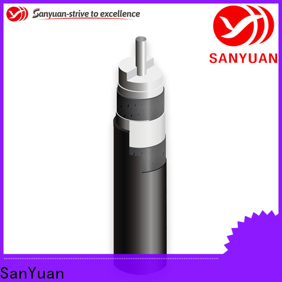 SanYuan latest 75 ohm cable factory for data signals