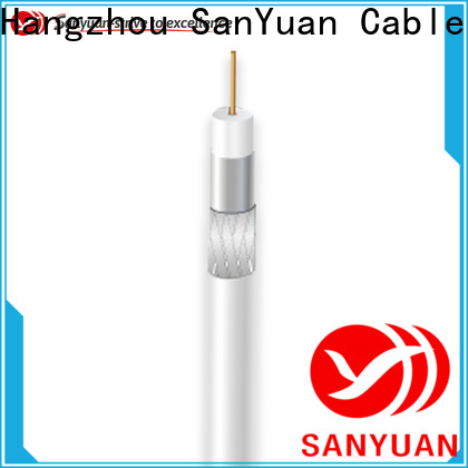 SanYuan cheap 75 ohm cable supply for HDTV antennas