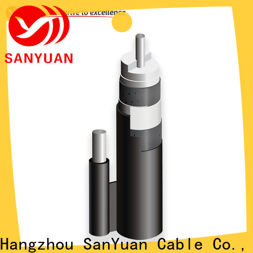 SanYuan 75 ohm coaxial cable factory for HDTV antennas