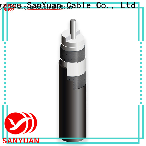 SanYuan long lasting 75 ohm coaxial cable manufacturers for HDTV antennas