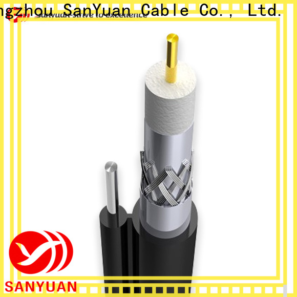 SanYuan long lasting cable coaxial 75 ohm company for HDTV antennas