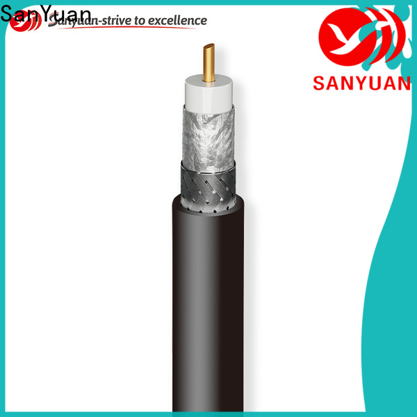 SanYuan 50 ohm coaxial cable wholesale for broadcast radio