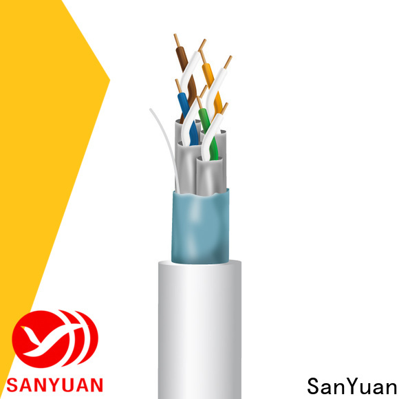 SanYuan category 7 lan cable series for railway