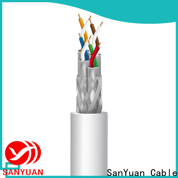 SanYuan cat 7a cable company for gaming
