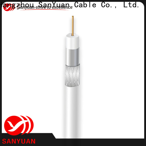 SanYuan cheap 75 ohm coaxial cable supply for digital audio