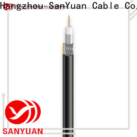 SanYuan 75 ohm cable factory for satellite