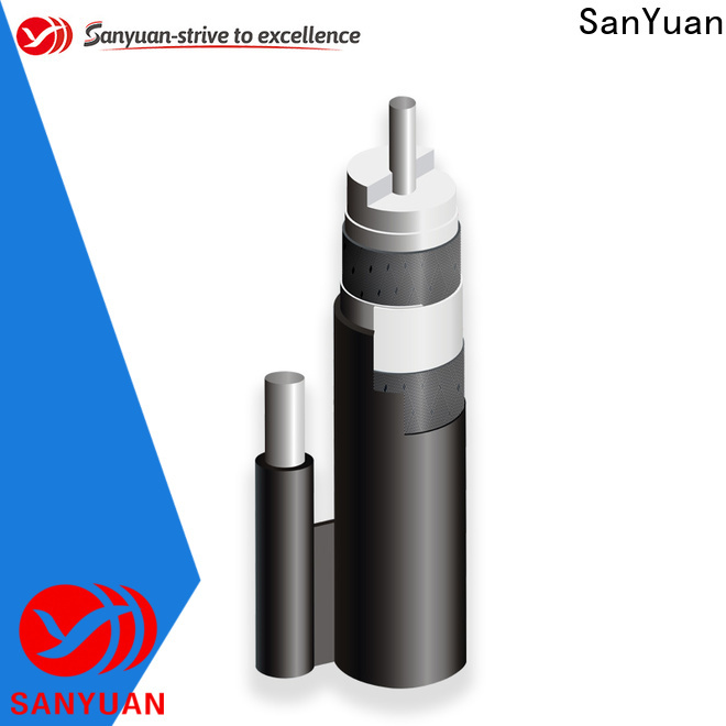 SanYuan latest cable 75 ohm suppliers for data signals