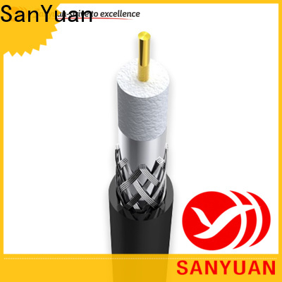 SanYuan easy to expand cable 75 ohm factory for data signals